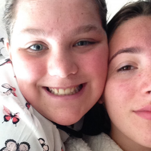 My sister Amelia Whiteley is 12 years old from Manchester and she had a severe case of Autism. Amelia inspires me every single day. She has to go to disabled school , which is attached to a normal high school. She gets judge by different students / people every day. She has taught me to never judge people and that nobody's perfect,every one is different. I am nominating Amelia because she has to put up with different people judging her , laughing at her and pointing at her every day. She is the best sister anyone could have.