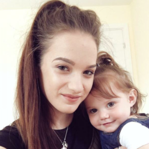 Libby is age 18 and lives in Worcestershire with her beautiful daughter a boyfriend ,3 years go she suffered serious mental health problems and really made my mum and out family's life difficult ,it was so bad she was put in an Inaptient unit ,it was hard  But I'm so proud of her she is amazing ,she fought her mental illness and I'm Proud to call her my sister ,she's got a beautiful 15 month old daughter ,an amazing boyfriend and and lovely house and is studying at college to work with children ,I am so proud to call her my sister