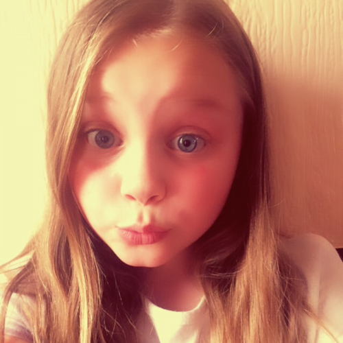 Madison is 9 and lives in Great Yarmouth.  she is a kind and caring little girl who really has no idea how beautiful she is. She tries hard at everything she does.