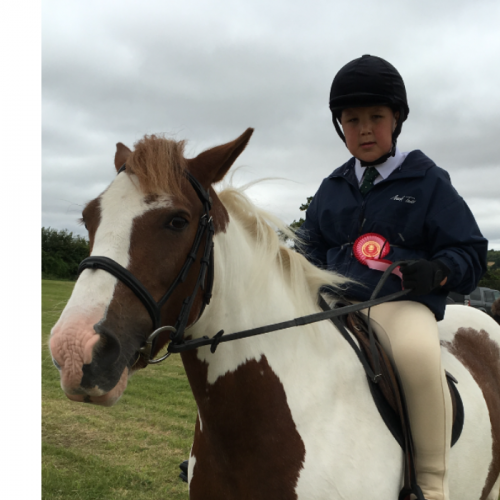 My little boy Joe has changed his story by his love of horse's & riding.Joe has lots of medical problems such as Beckwith Wiedemann syndrome,Hirchsprungs disease,Ulcerated colitis & Joe has a colostomy bag,This little boy has had  countless operations & over 40 general anesthetics to date.Joe has a passion for life & never moans,Joe lives life to the full through his horse riding.I am one very proud mum,we live in Portsmouth.