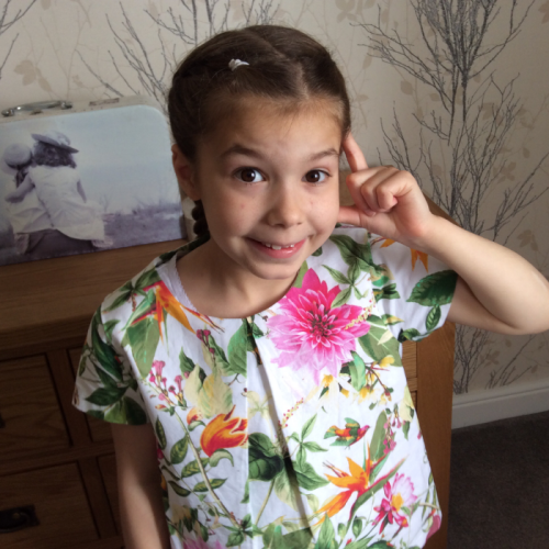 This is Emily-KATE  who has a very rare complex medical condition . She is always smiling and is very brave she has a sister ALICE who is older and they are best friends ,Alice helps Emily through many difficult situations , I am there grandmother and I think it would be amazing to be able to see Matilda .
