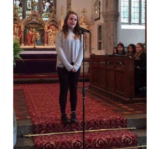 I am nominating my sister Chloe, 15, because she has gained so much confidence in herself, advanced in musical theatre and performed in multiple shows and concerts, beating her nerves!