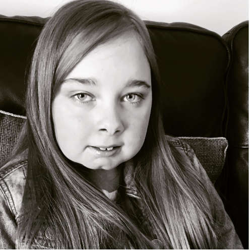 Amelia, age 12, lives in Tunbridge Wells.  My daughter inspires me everyday. She is one of a twin, born premature at 30 weeks & not expected to live.  She didn't come home until 4 months old and has been in and out of hospital ever since.  She was primarily born with a condition called arthrogryposis that affects her arms, legs, feet etc (Lee Pearson the Paralympian has this disability).  Amelia was unable to walk and went through major double hip surgery when she was a toddler.  She didn't take her first steps until she was 3 and half.  Amelia walks with the aid of a Kaye walker and still has the use of a wheelchair because she can only walk small distances.  Amelia has had further operations and treatment and there is more to come.  On top of this when she was 4 years of age she was diagnosed with Selective Mutism, a speech anxiety phobia.  She was mute all through her primary school years never speaking in school to her twin brother.  We are only now getting the support & help we need to help her overcome this anxiety disorder which doesn't help when she needs to ask for help due to her physical disability.  It will always be an ongoing process.  Anxiety is hard enough for an adult to understand let alone a child.  Amelia sees me as her main support and guardian angel fighting her battles and helping her but little does she know she inspires me everyday.  She has such determination and a wicked sense of humour that not everyone gets to see. She absolutely loves musicals and has a lovely singing voice that no one gets to hear, such a shame I believe if she didn't have selective mutism she would join in with drama at school.  Without realising it herself, Amelia has helped me fight my own battle of breast cancer.  Seeing how she deals with her disabilities everyday gave me the determination to fight my own battle.  I'm now 5 years clear but it hasn't been an easy ride due to the adjuvant therapy I was required to take to keep the cancer away.  Watching Amelia deal