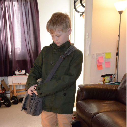 This is my son Tobey, he's just turned 11 years old and we live in Norwich.  I am nominating him because he gave up. 3 years ago he didn't want to go to school, he was being bullied by ALL the boys in his class, his only friends became the girls. He stopped going to gymnastics, riding his bike, wanting to go outside at all. Meanwhile 2 years ago we were struggling as a family with my loss of mobility. I went from walking 6 miles a week to being in a wheelchair. We moved into the city to make access easier for me.  Over the last 2 years I have watched my son battle his anxieties to start a new school, to restart Karate, to restart swimming, to restart engaging with his peers. He started high school this September and we couldn't be any more proud.  The unexpected knock on effect is we as a family have also started to pick ourselves up. We got a dog, it makes me overcome my PTSD to walk him, often with Tobey on his scooter or BMX. He's taught me that when the sun gets up there is always something to look forward to. I restarted accessing sports in my wheelchair. My husband has started writing, and joined a band. Tobey has taught us that even when it's painful, or panic inducing it is worth getting up, and going out, and reconnecting with people again. For that he will always be my sunshine.