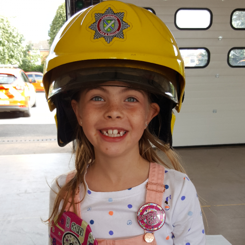 Olivia is 8 years old from Skegness. When she was 3 her daddy got leukaemia. She watched him go through his treatment and saw how poorly he was. When she was 5 she decided she wanted to help and make a difference to someone's life. So we looked at what she could do. She saw a charity called the little princess trust where you can donate hair for them to make wigs for children with cancer and alopecia. She had 9 inches cut from her hair and raised £1100. I am so proud of the kind and generous little girl she is.