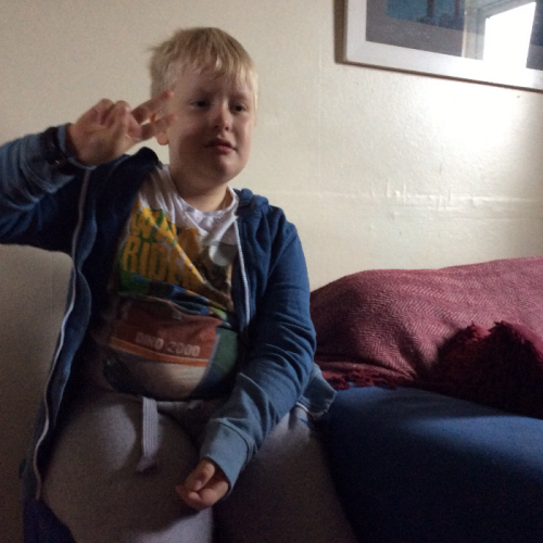Mckenzie is 8 years of olds from Staffordshire he has been through various childhood trauma one being his nanny dieing at a young age . he is dealing incredibly well and starting to socialise and read more like Matilda to change is story
